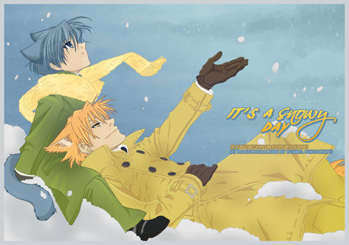 It's a snowy day
