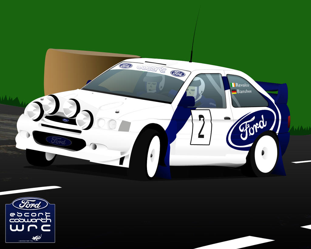 Ford Escort Cosworth WRC by