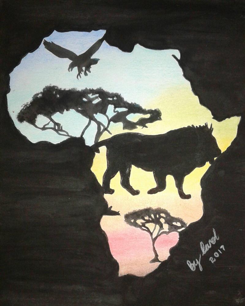 My Africa by caytindo