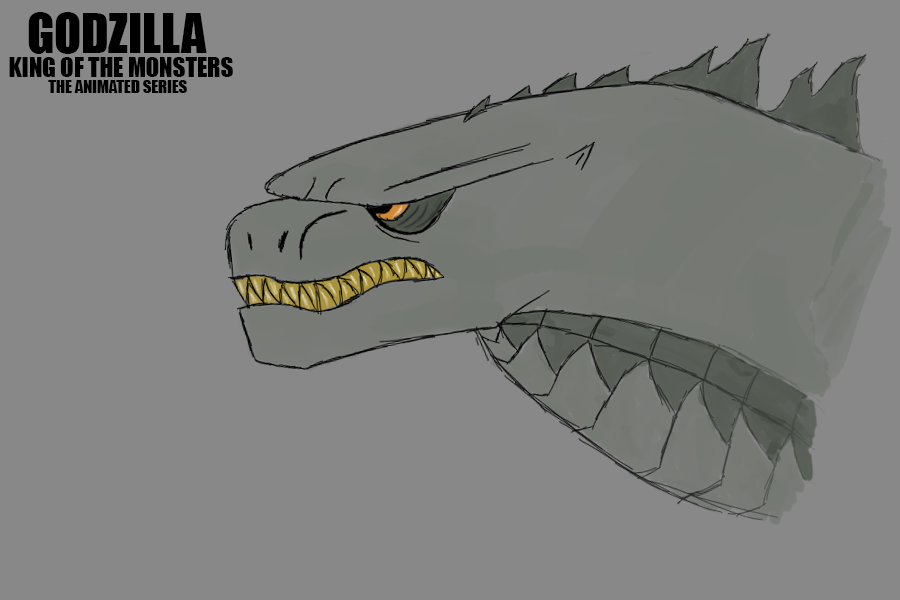 how to draw godzilla 2014