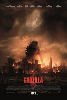 New Official Godzilla 2014 poster