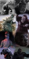 Godzilla and Kong through history by Awesomeness360