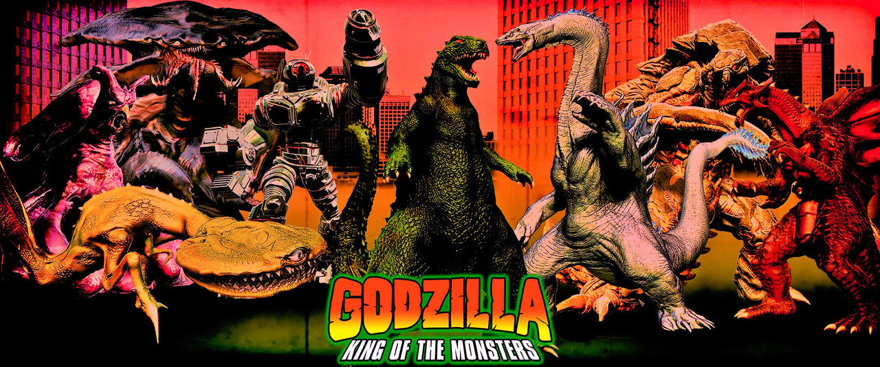 Godzilla: King of the Monsters --- version 2