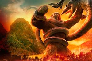 KONG vs SKULL DEVIL official artwork by Awesomeness360