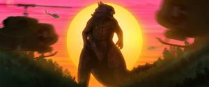Golden Horizon - Godzilla by Awesomeness360