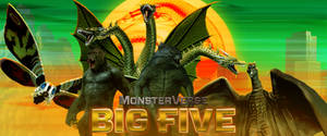 MonsterVerse Big Five by Awesomeness360