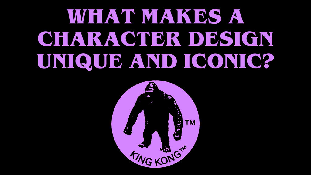 What makes a character design unique KONG [icon] by Awesomeness360