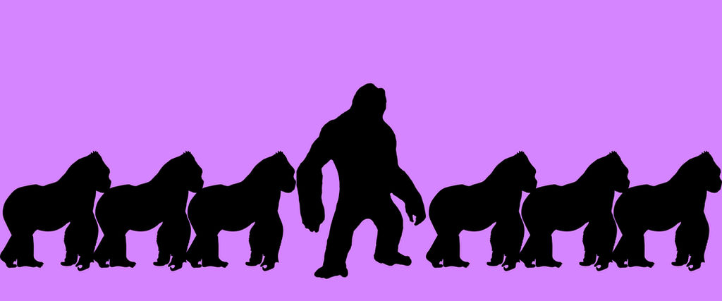stand-out-from-others Kong by Awesomeness360