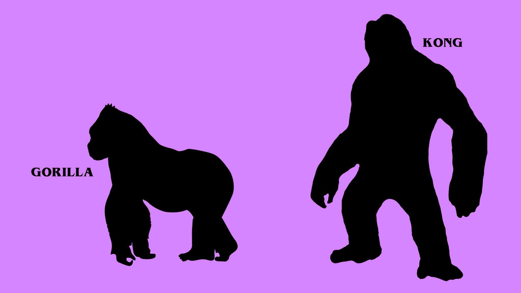 Real life-and-Fiction-difference Kong by Awesomeness360