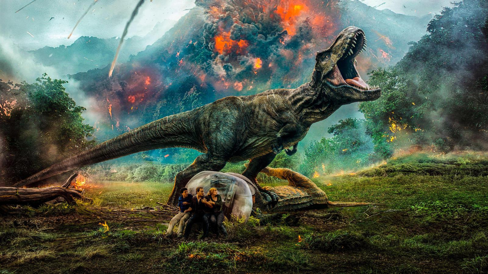 Jurassic World Fallen Kingdom wallpaper by Awesomeness360 ...