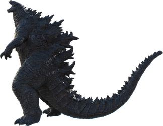 Godzilla 2019 Official PNG render_01 by Awesomeness360