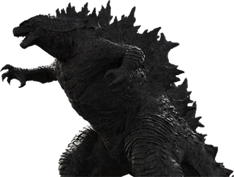 Godzilla 2019 Official PNG render_03 by Awesomeness360