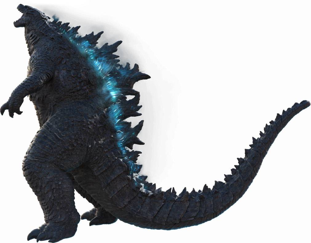 Godzilla 2019 Official PNG render_04 (atomic glow) by Awesomeness360
