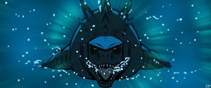 GvK recreation - Godzilla by Awesomeness360