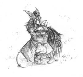 Freya and Vivi - by saffytaffy by rat-nest