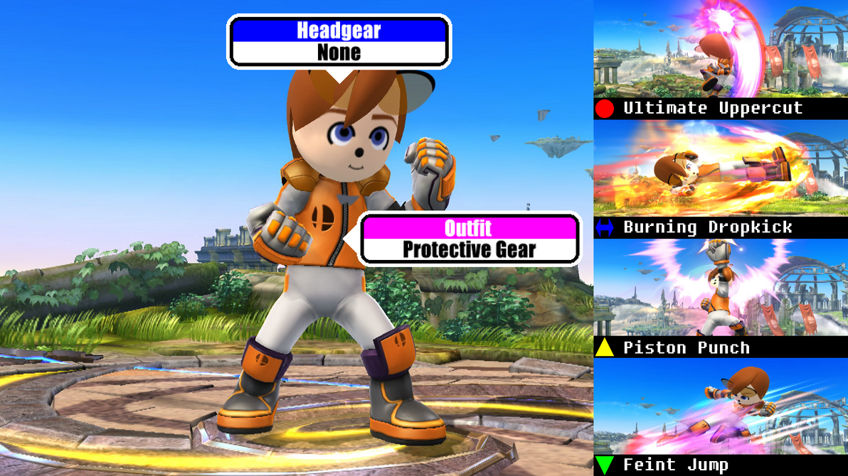 Mii Fighter Info (CodyTheFox) by NickCox01