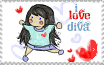 Chibi Diva Blood Plus Stamp by rose-bleue