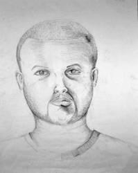 Pencil Self-Portrait