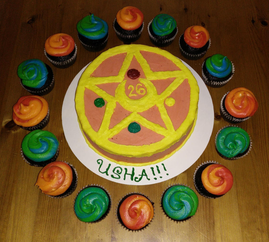 Sailor Moon Cake by fairielove on DeviantArt