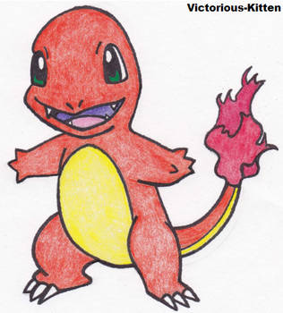 Charmander by Victorious-Kitten