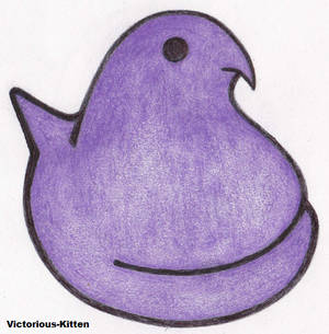 Purple Chick Peep