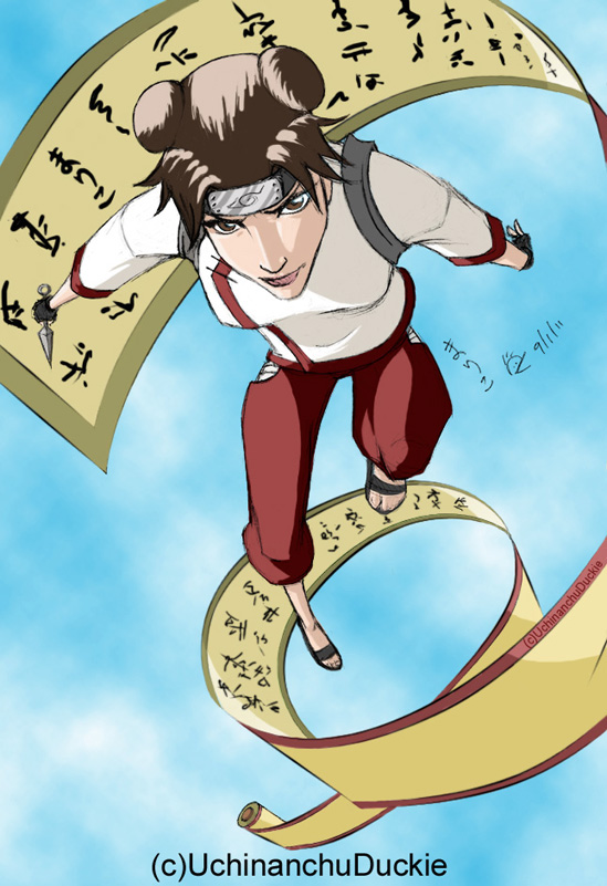 Tenten in Color by UchinanchuDuckie