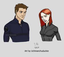 Kells' Clint and Natasha by UchinanchuDuckie
