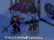 Sir Fratley and Freya Crescent by RayValentine