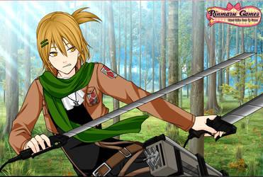 Takoda Elros (snk cosplay) by leara123