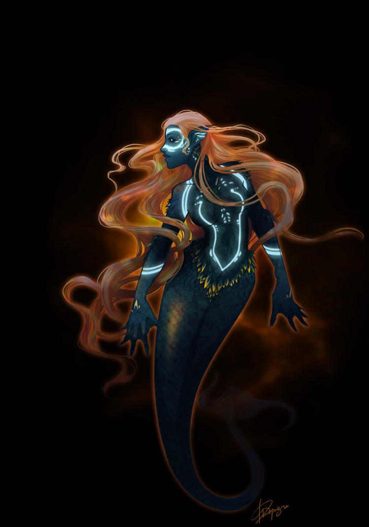 Mermaide by ozzopad