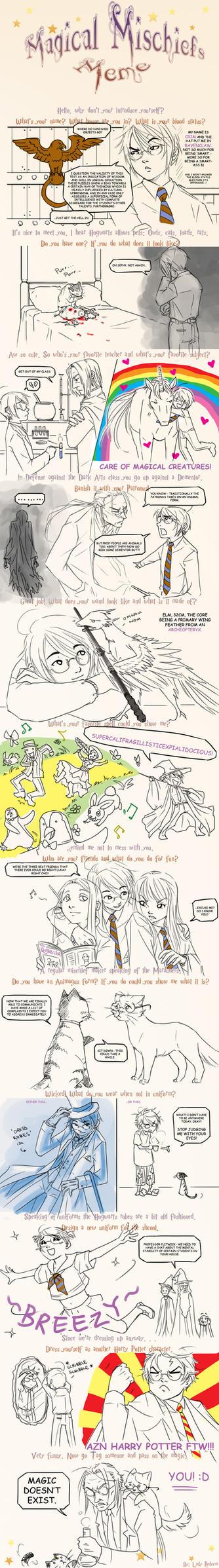 Harry Potter meme by CrimsonSun