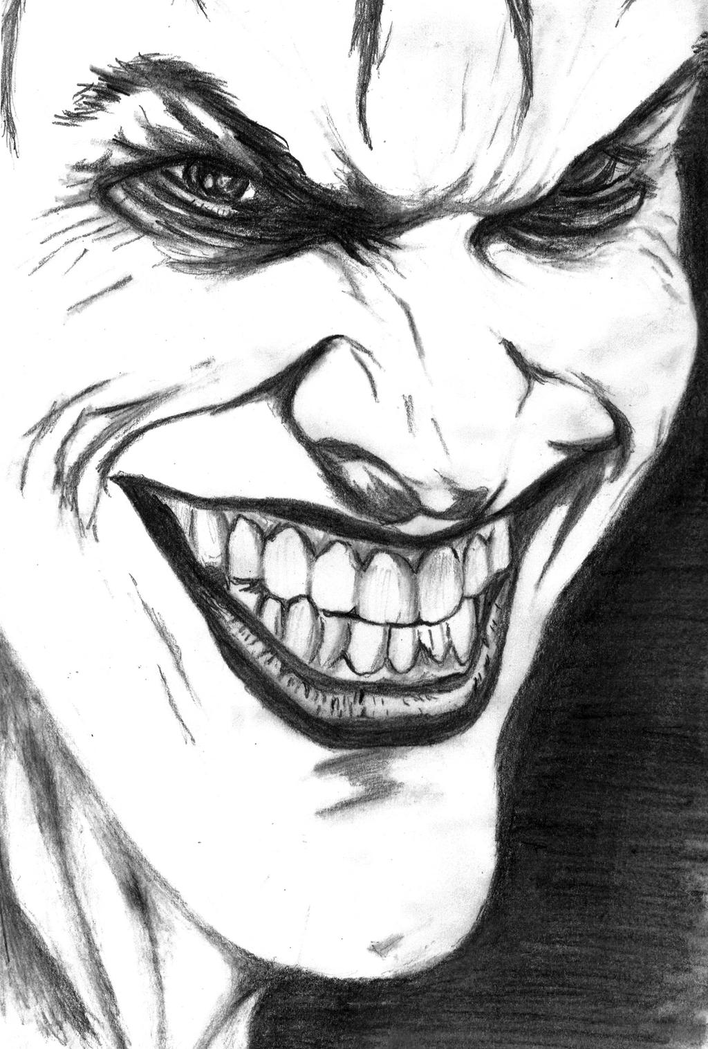 Joker Scribble Drawing : The joker drawing by jopno on deviantart