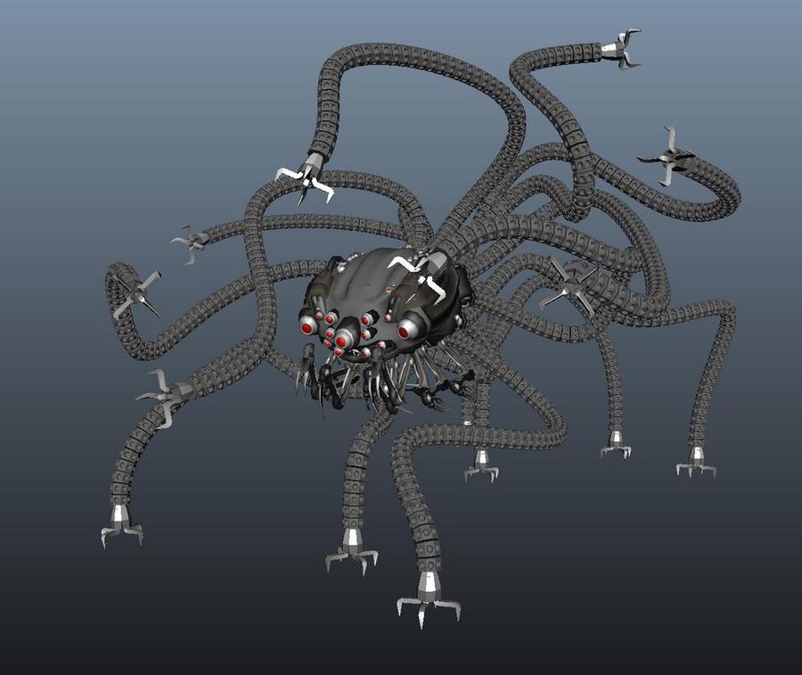 Matrix Sentinel by devour-all-hope on DeviantArt