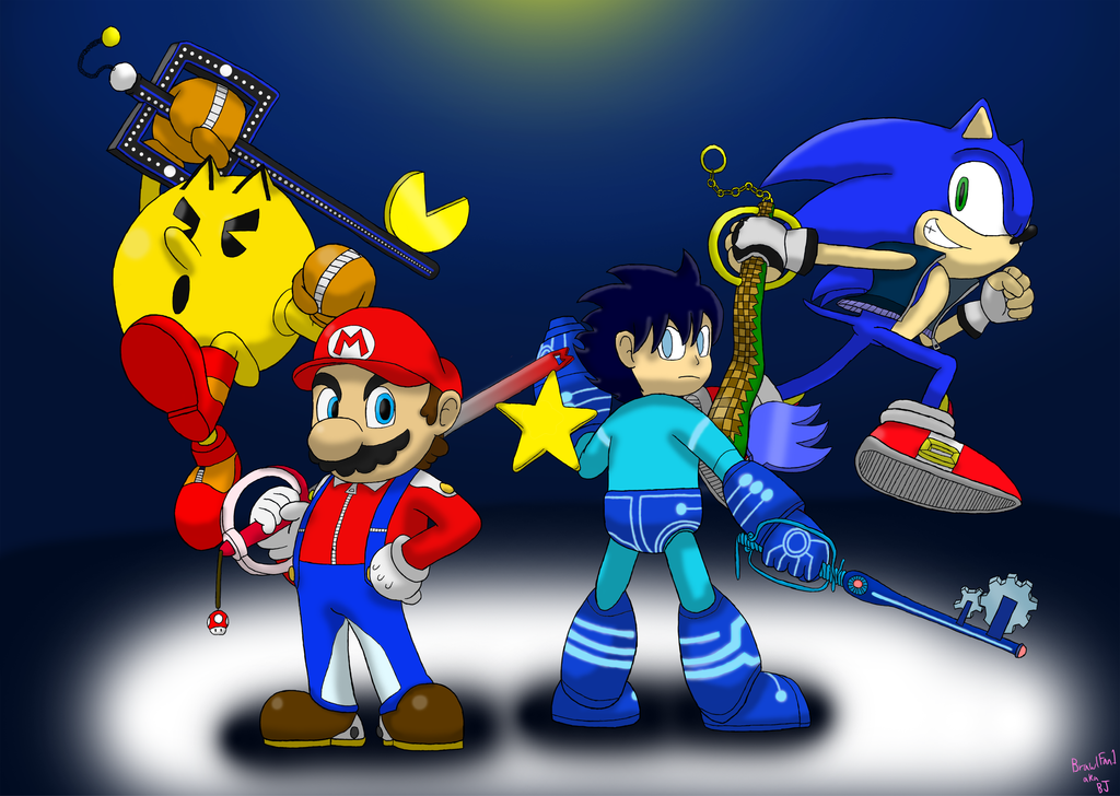 The Chosen Keyblade Wielders of Smash by w00twithBrawl