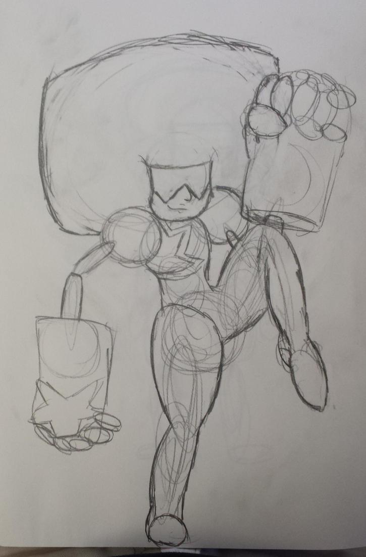Sketch: Garnet by w00twithBrawl