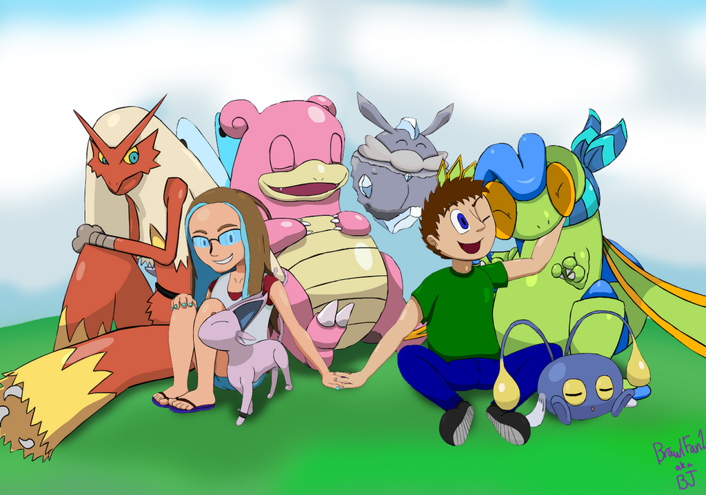 Our Pokemon Group (title pending) by w00twithBrawl