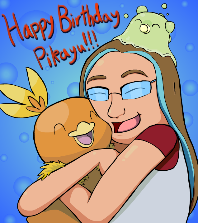 Happy Birthday Pikayu! by w00twithBrawl