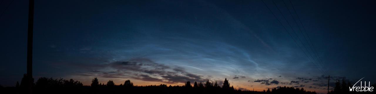 Night sky by wrebble