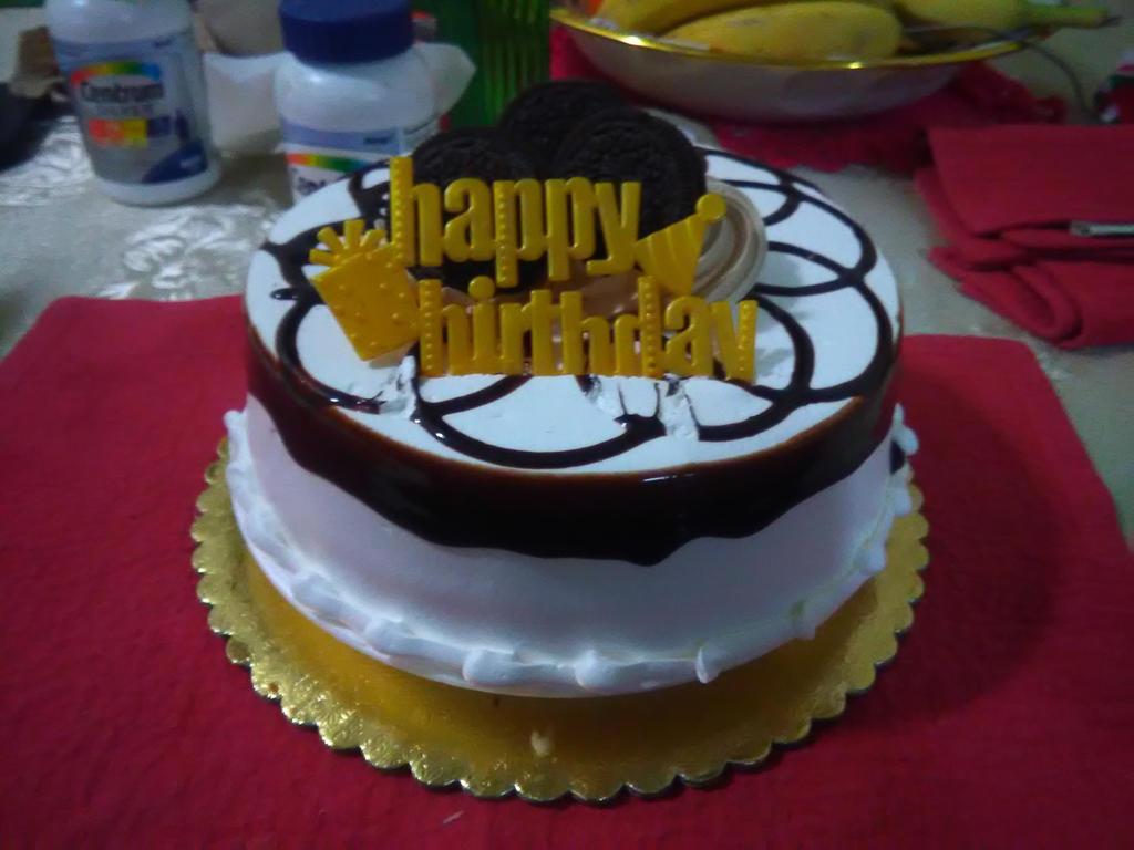 Birthday 29 Part 1 My Oreo Birthday Cake By Namco Nintendofan 88