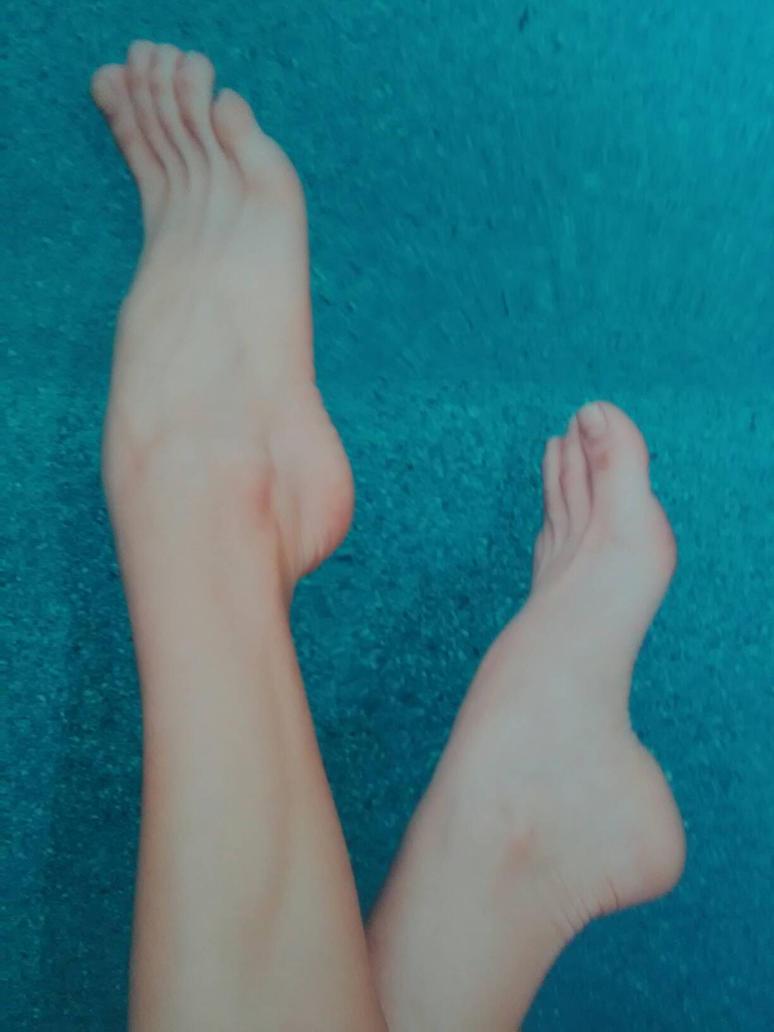 The Feet Of An Unknown Model by Namco-NintendoFan-88
