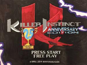 Killer Instinct 25th Anniversary Edition Title!!