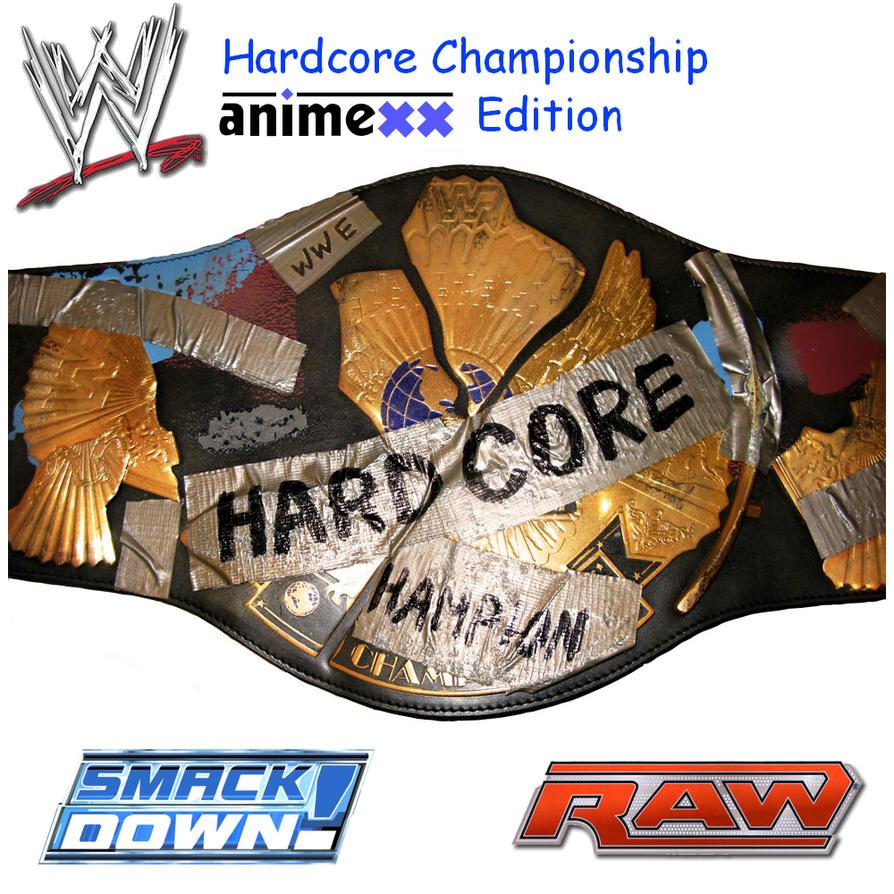 Hardcore title belt