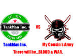 TankMan Inc vs Jillian's Army
