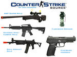 My own Weapons in Counter-Strike