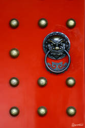 the red door by acupofkopi