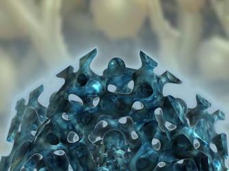The deep blue sky trophy
