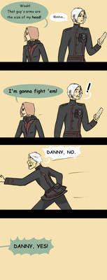 Handling Intimidation: a Mini-comic [DGM]
