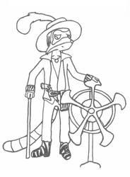 JerryArr: Pimp Pirate by Bocaj-Claw