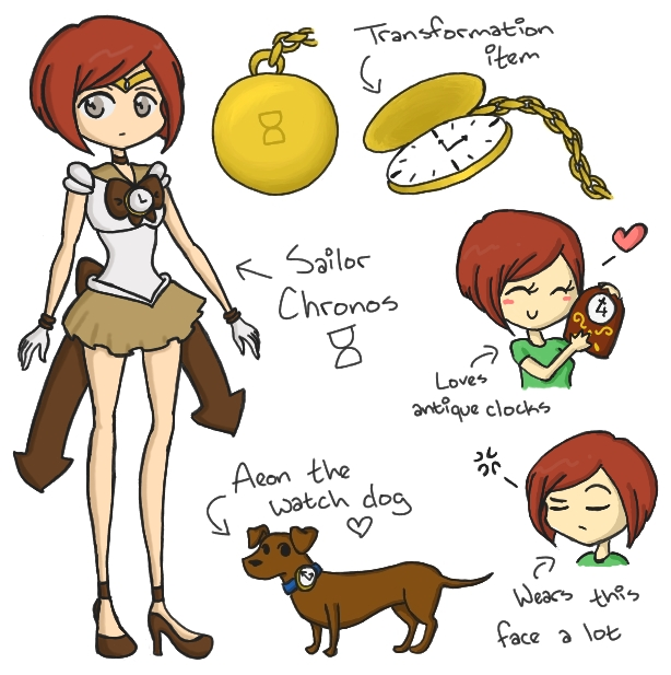 Sailor Chronos Reference by kennasaur