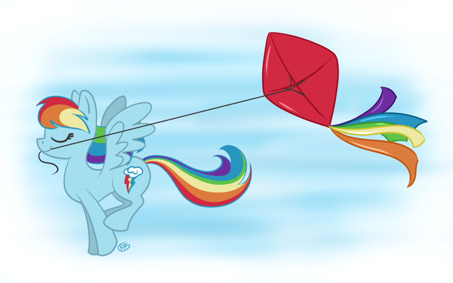 Let's Go Fly a Kite by kennasaur